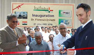 factory inauguration