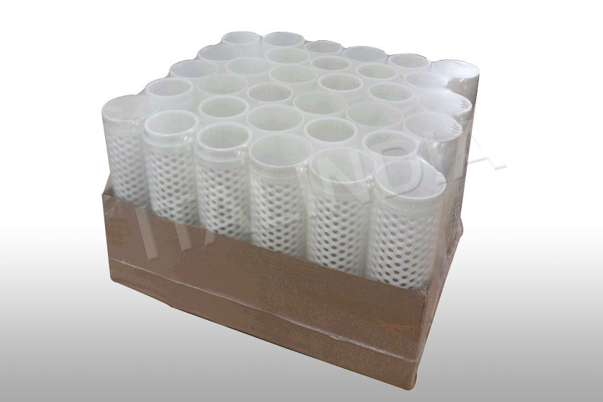 industrial filters packed