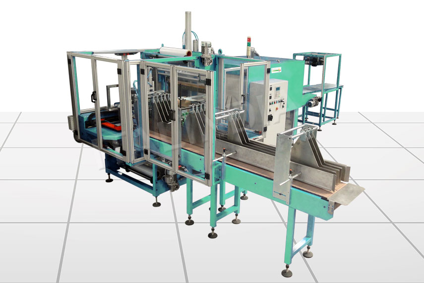 two roll automatic shrink wrapper