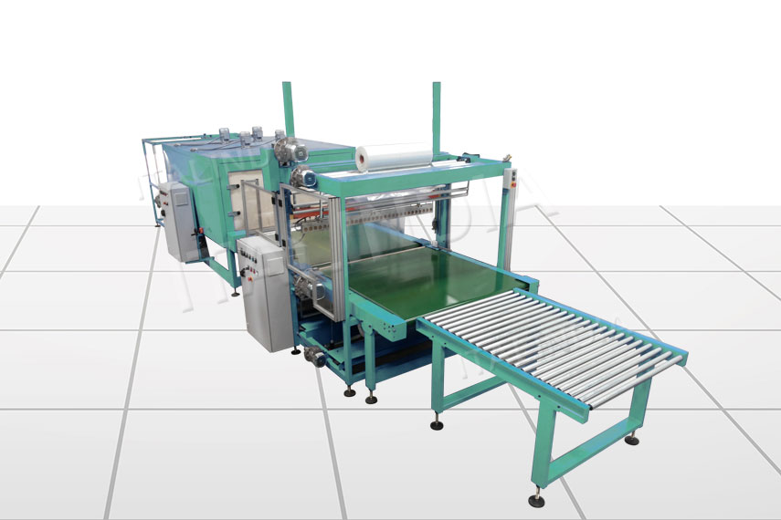 shrink wrapper for industrial products