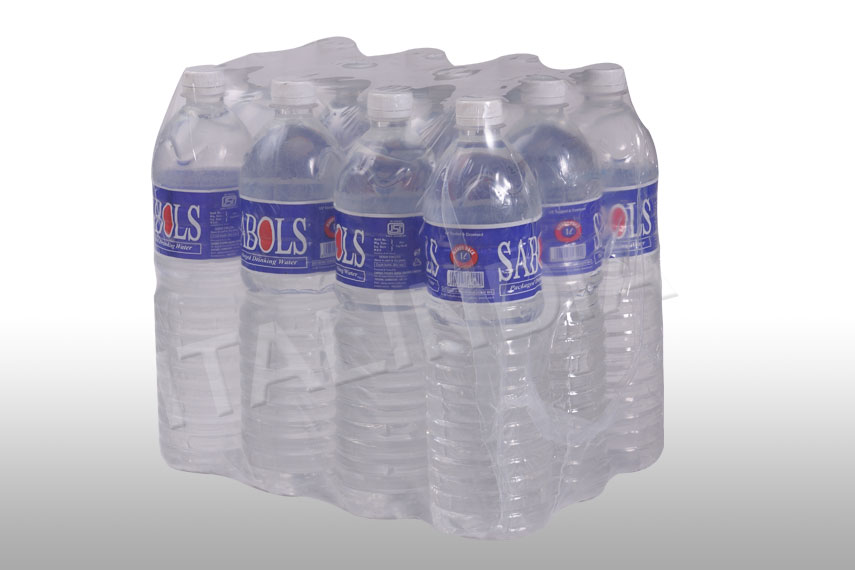 water bottles packed in collation